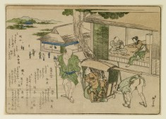 Genre Scene with Palanquin