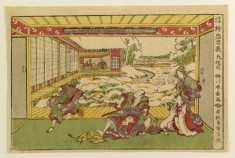 Altercation in Yuranosuke's house