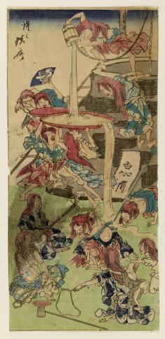 Mythical Shojo at drunken play