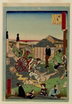 Tokyo meisho sanjuroku gisen