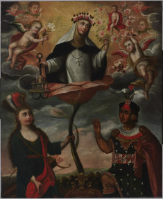 An Allegory of Saint Rose of Lima
