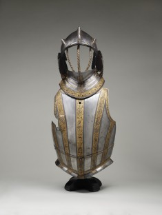 Burgonet Helmet and Reinforce for a Field Breastplate of Maximilian II