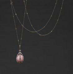 Sautoir with Pearl Pendant