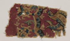 Tapestry Fragment with a Bird