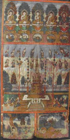 Phra Malai  in Tavatisma Heaven