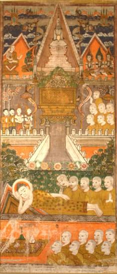 The Buddha's Parinibbana and Cremation