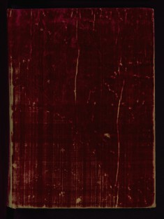 Binding from Psalter with Office of the Dead and Litany