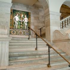 Museum Location: Stairway to Scuplture Court